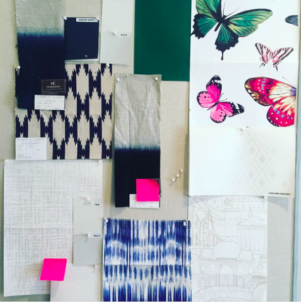 Inspiration: Artisan Wallpaper, Tribal Textures, Fresh Colors