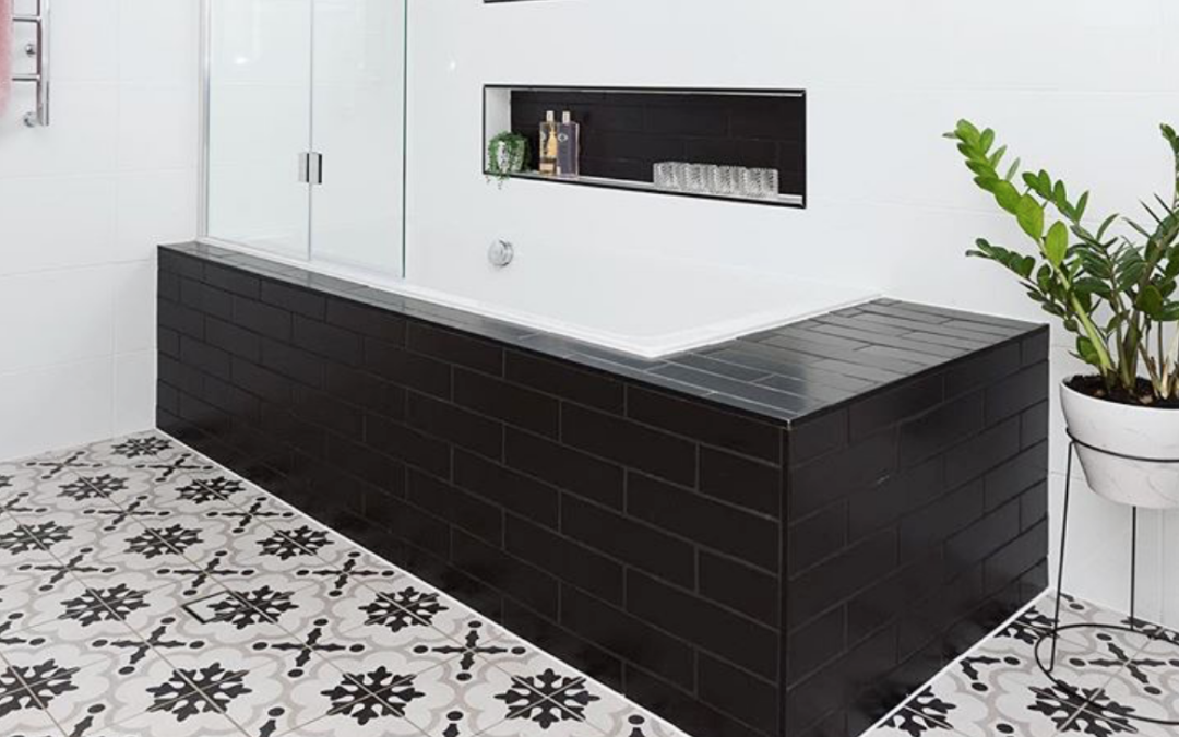 My Favorite Trends: Black Tile